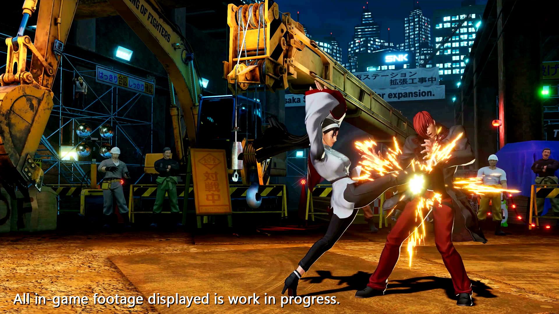 「THE KING OF FIGHTERS XV」、神楽ちづるのキャラクタートレーラーを公開