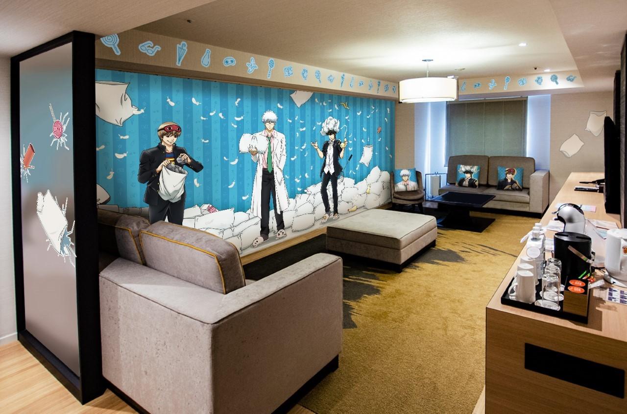 銀魂コラボ ホテル宿泊プラン