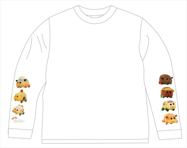 【PUI PUI モルカー】ロングTシャツ