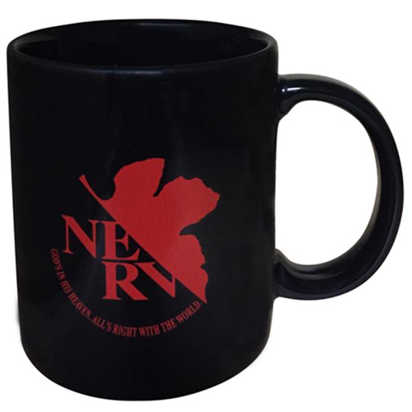 6位:EVANGELION STORE オフィシャル版 NERVマグカップ